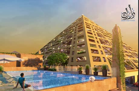 Hotel Apartment for Sale in Dubailand, Dubai - A great offer to own hotel apartments with a fixed return of 8% without maintenance fees