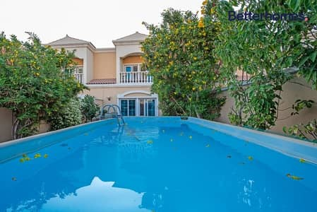 1 Bedroom Townhouse for Rent in Jumeirah Village Circle (JVC), Dubai - Fully Furnished   Private Pool  Lush Garden