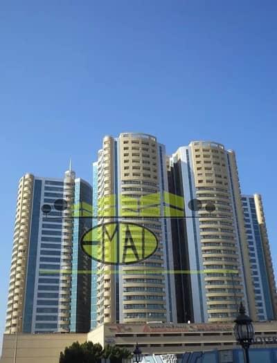 Studio for Sale in Ajman Downtown, Ajman - Horizon Towers: Studio with Balcony 760 sqft very spacious
