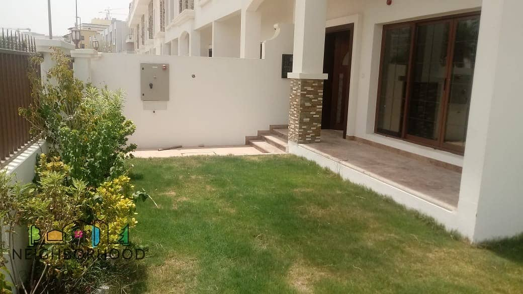 Elegant 4 Bedroom+ Maids Single Row Villa JVC