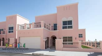 Beautiful 4 & 5 Bedroom Villas for Sale at Nakheel Nad Al Sheba Villas