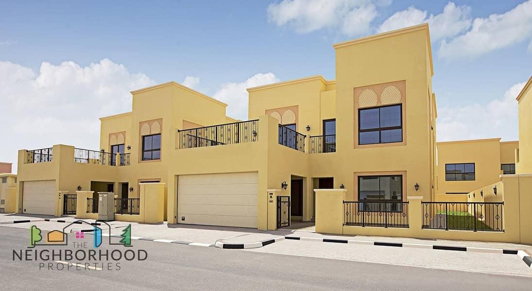 2 Beautiful 4 & 5 Bedroom Villas for Sale at Nakheel Nad Al Sheba Villas