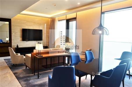 شقة 2 غرفة نوم للايجار في جزيرة بلوواترز، دبي - Amazing 2BR Fully Furnished with Sea Vew