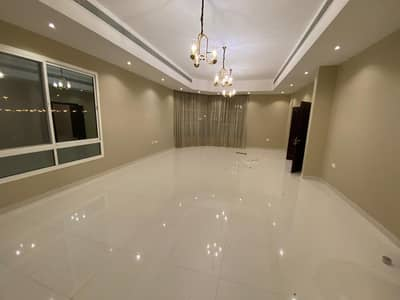 4 Bedroom Villa for Rent in Mohammed Bin Zayed City, Abu Dhabi - villa inside compound with  umbrilla private yard