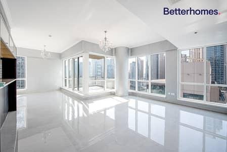 3 Bedroom Apartment for Rent in Dubai Marina, Dubai - Fully Upgraded   Full Marina View   Chiller Free