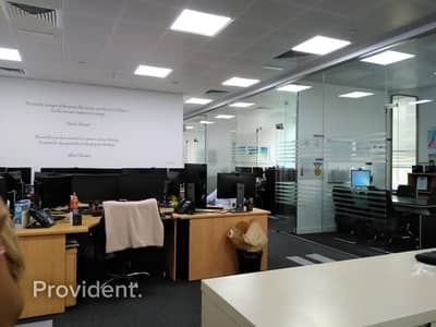 مکتب  للايجار في مركز دبي المالي العالمي، دبي - Burj Daman DIFC|Fitted and Furnished Luxury Office