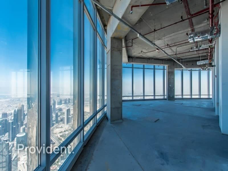 2 Full Floor with a Private Lift | Fountain Views