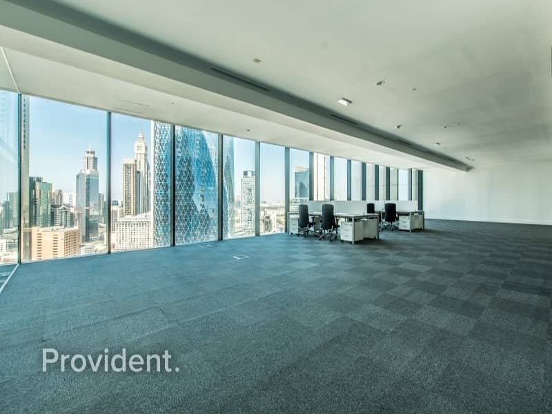 2 Fully Fitted Office For Lease In Index Tower