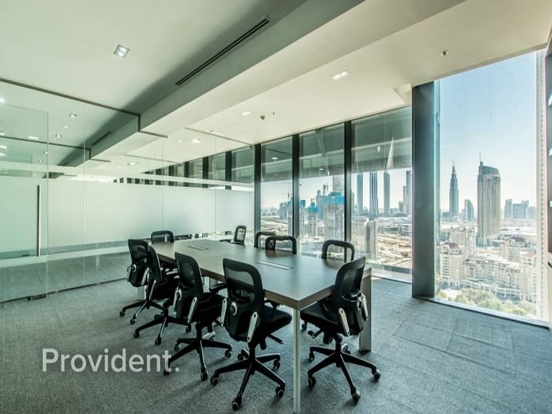 2 High Floor Huge Fitted Office For Lease In DIFC