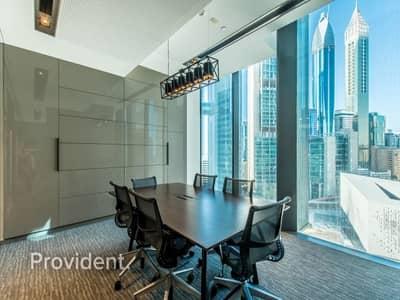 مکتب  للايجار في مركز دبي المالي العالمي، دبي - Fully-fitted and Furnished | Ready to Move In
