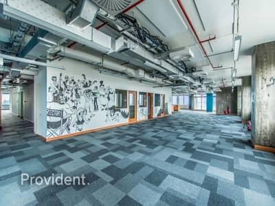 طابق تجاري  للايجار في مدينة دبي للإنترنت، دبي - Full Floor | Fantastic Finishing | Chiller Free