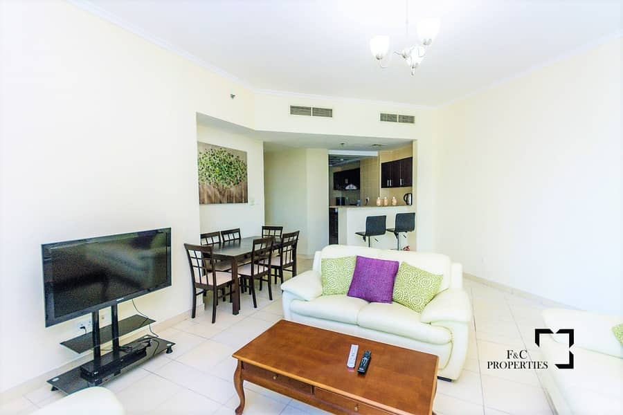2 Spacious 2BR | Fully Furnished | Partial Sea View