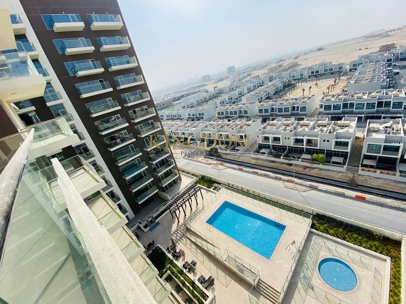 Pool view | 2BR |  Brand New | unfurnished | Chiller Free