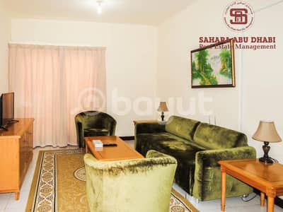 1 Bedroom Flat for Rent in Airport Street, Abu Dhabi - Facility In Payment