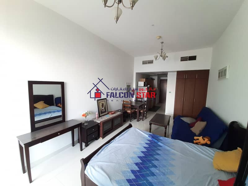 2 FULLY FURNISHED STUDIO | GOLF VIEW | BIGGER SIZE