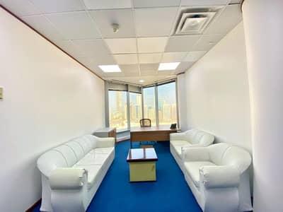 مکتب  للايجار في الخالدية، أبوظبي - Classy And Modern  Furnished Office Space