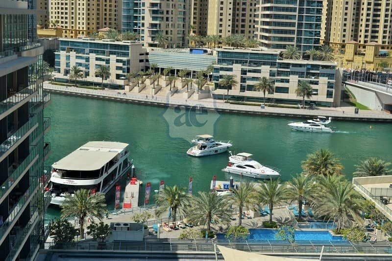 12 Fully-Furnished 2BR | Marina View | 2 Parking Spaces