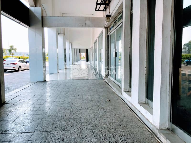 AED 75/sq.ft. for 4000 sq.ft Shop with Ground+Mezzanine near Karama Park