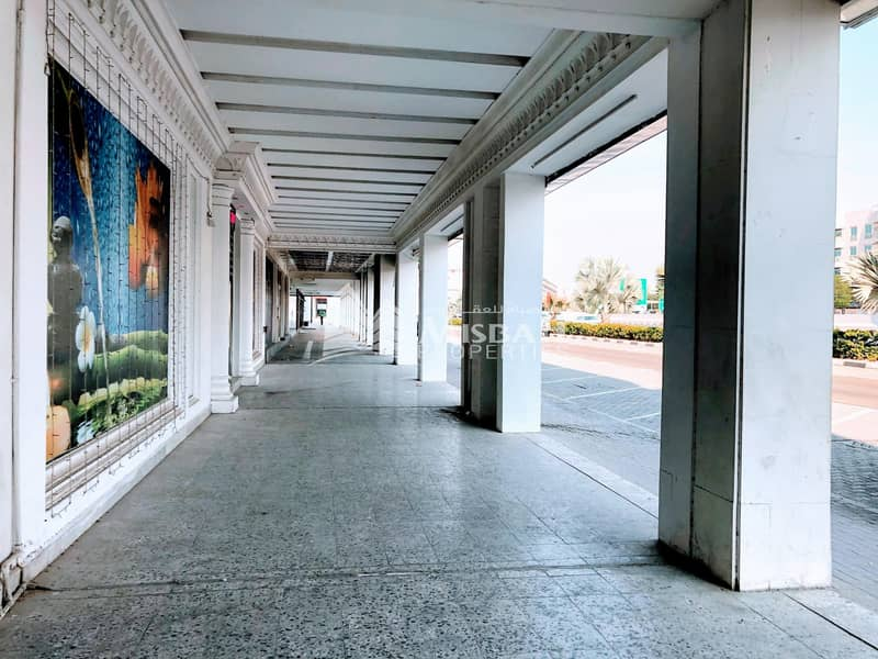 2 AED 75/sq.ft. for 4000 sq.ft Shop with Ground+Mezzanine near Karama Park