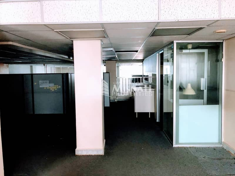 15 AED 75/sq.ft. for 4000 sq.ft Shop with Ground+Mezzanine near Karama Park