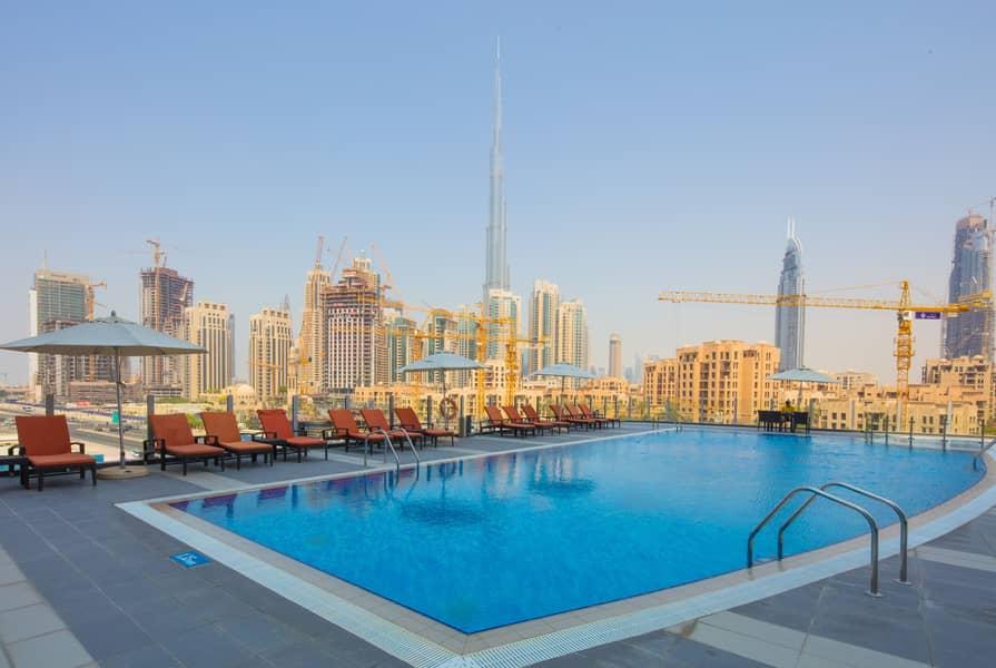 Premium Fully Furnished Studio | Canal & Burj View