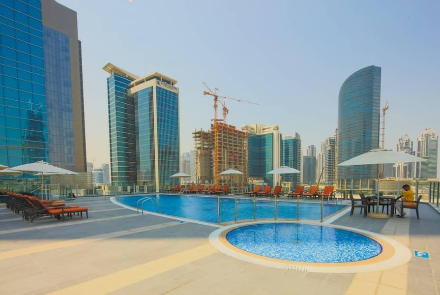 18 Premium Fully Furnished Studio | Canal & Burj View