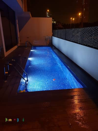 4 Bedroom Villa for Sale in Jumeirah Village Circle (JVC), Dubai - Corner Villa with Private Pool & Elevator