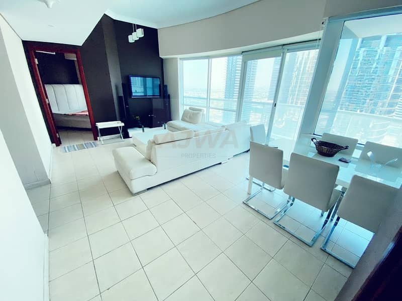 2 AMAZING VIEW | FURNISHED 2BR | NEAR METRO STATION