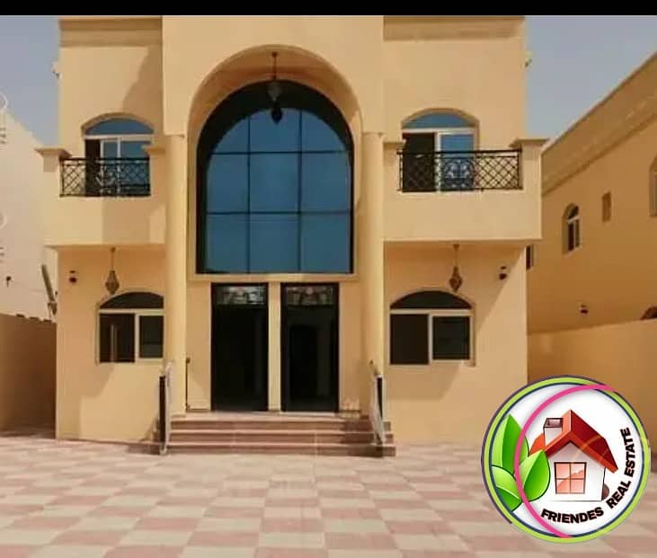 You own your villa now in Ajman, near the academy, next to the Al-Mowaihat Mosque, near the neighboring street. Ownership is free for life, with bank installments of up to 25 years