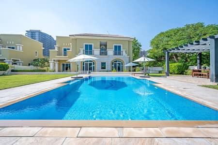5 Bedroom Villa for Rent in Dubai Sports City, Dubai - B1 Villa | Fabulous Golf Views | with Pool