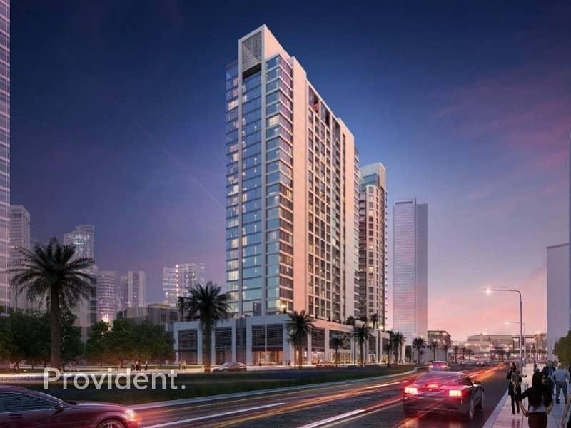 2 Elagantly Designed with Terrace Burj Khalifa View