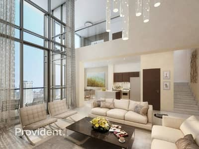 3 Bedroom Penthouse for Sale in Downtown Dubai, Dubai - With Maid's Room | High End | No Commisison