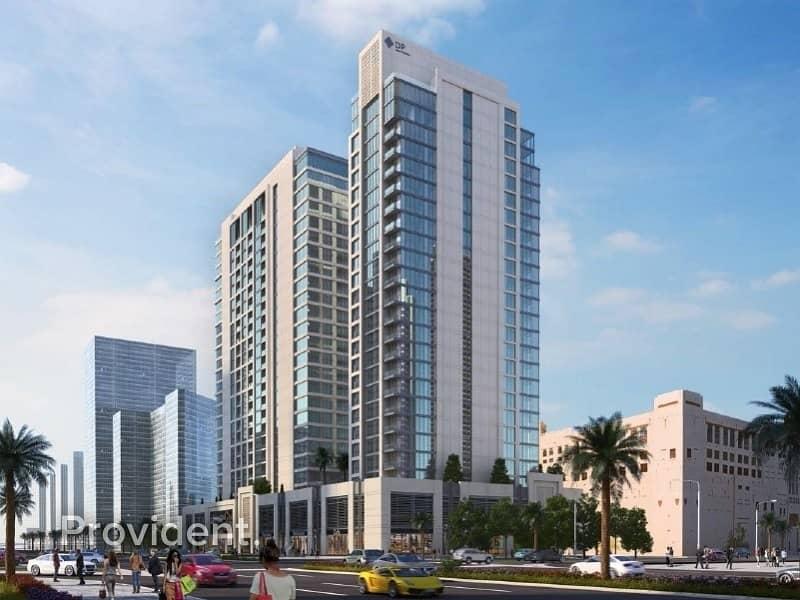 9 Elagantly Designed with Terrace Burj Khalifa View