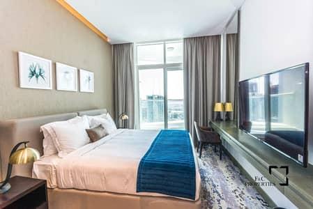 استوديو  للايجار في الخليج التجاري، دبي - Up to 6 Cheques | High Floor | Luxury Living