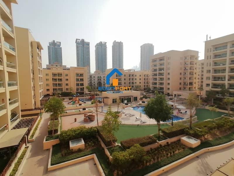 Large Layout | 1 BHK | Full Pool View | Al Thayyal 3 | Greens