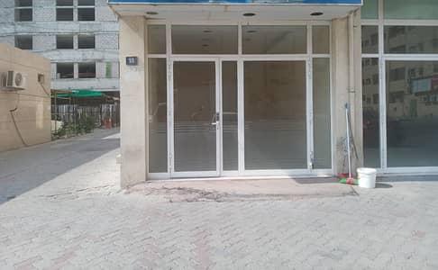 محل تجاري  للايجار في أبو شغارة، الشارقة - محل للايجار في ابو شغارة بدون عمولة و مباشرة من المالك في ابو شغارة 24,000 فقط