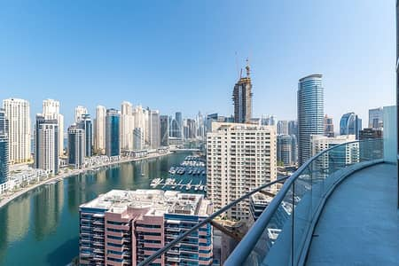 3 Bedroom Penthouse for Rent in Dubai Marina, Dubai - Superb Penthouse | Marina Views | Big Layout