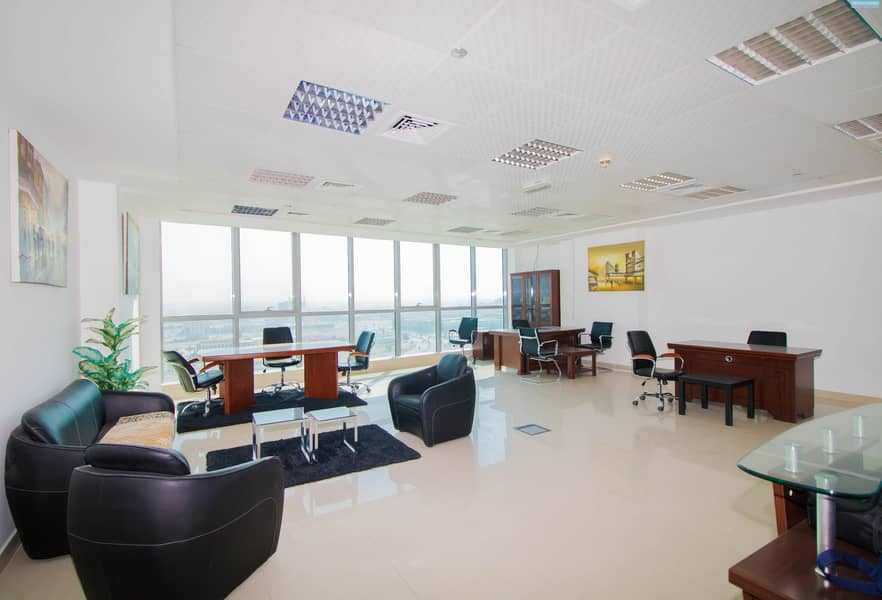 Fully Fitted - Julphar Commercial Tower for Sale - Sea View