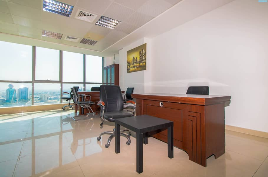 2 Fully Fitted - Julphar Commercial Tower for Sale - Sea View