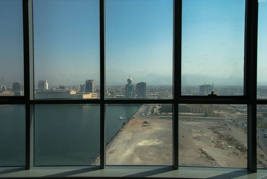 25 Fully Fitted - Julphar Commercial Tower for Sale - Sea View