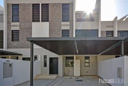 تاون هاوس 5 غرف نوم للبيع في أكويا أكسجين، دبي - 5 Bed Townhouse   Single Row   90% Completed