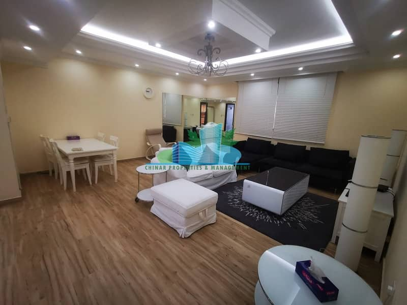 2 FURNISHED Immaculate & Attractive 2 Bhk in Great Location!