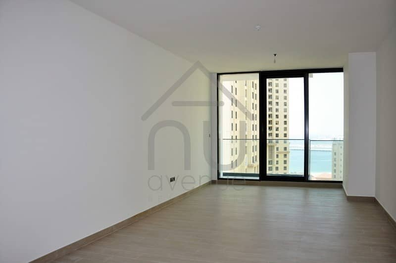 2 Stunning 2 BR | Unfurnished | Sea View