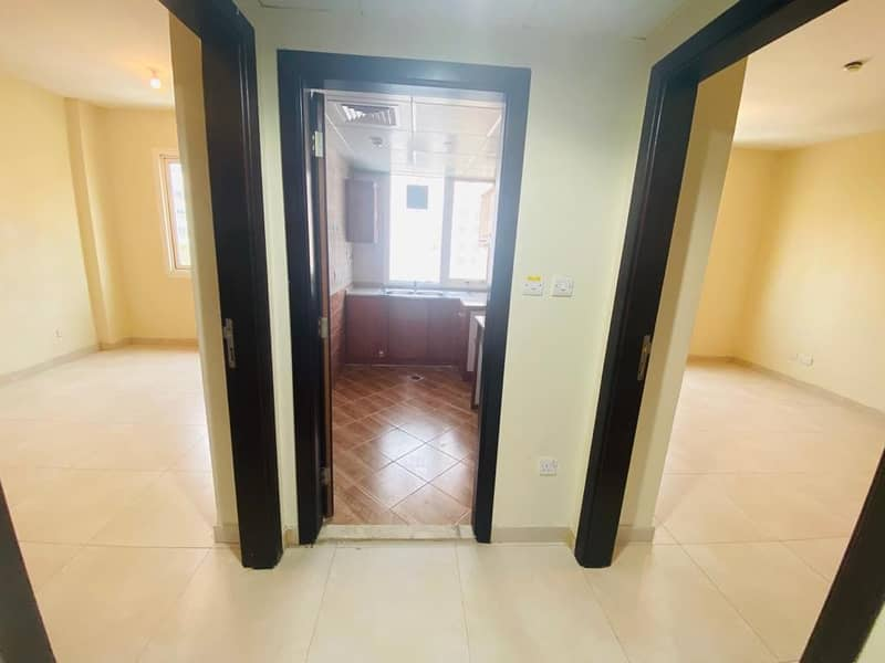 A Spacious 1BHK apartment with city view, At Muroor Road II Zero Commission II