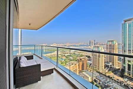 فلیٹ 2 غرفة نوم للبيع في دبي مارينا، دبي - 2 Bed | Sea And Palm View | Vacant Soon