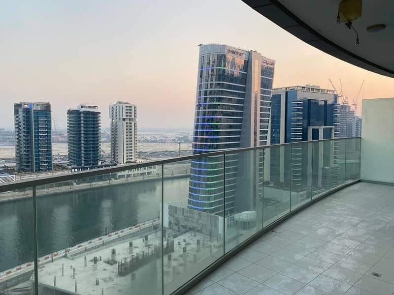 Canal View   Luxurious Furnished   1BR Apartment    Largest Balcony