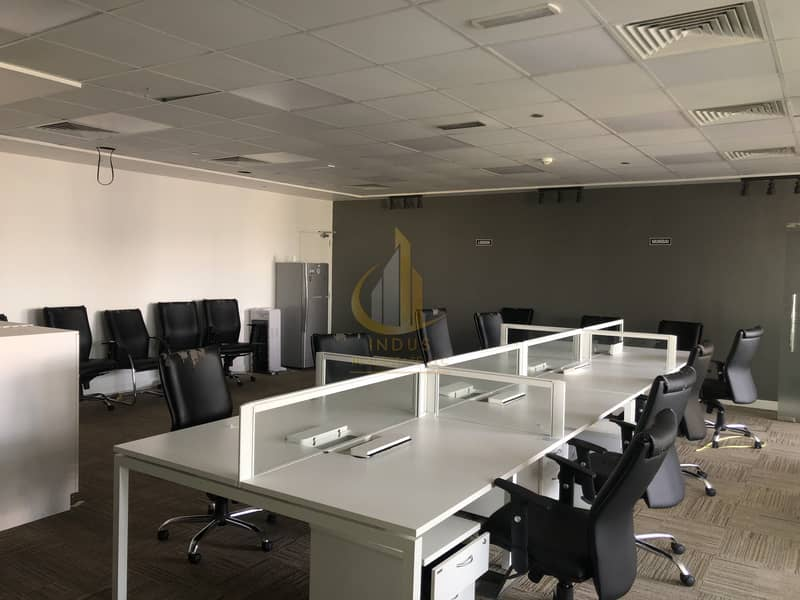 2 Amazing Fully Furnished Spacious Office in Gold Tower JLT!