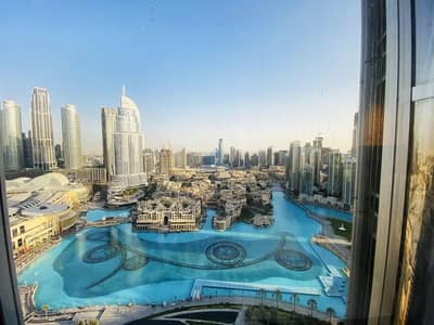 2 Bedroom Flat for Rent in Downtown Dubai, Dubai - Full  Fountain & Panoramic View & Fully Furnished
