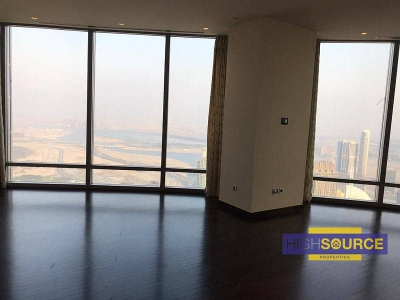 2 Large 2Bed+ Maid Very High Floor | Full Fountain Views