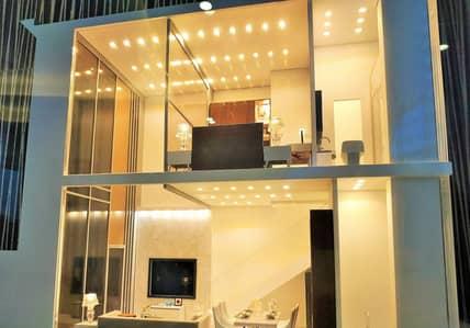 تاون هاوس 1 غرفة نوم للبيع في دبي لاند، دبي - نظام ضمان العائد, تاونهاوس لوفت غرفة و صالة في مجمع عصري